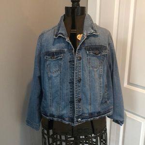 Ava & Viv Plus Size Jean Jacket